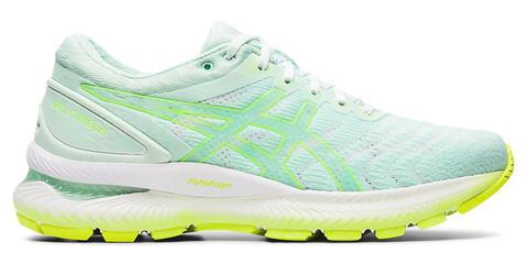 Asics Gel Nimbus 22 кроссовки для бега женские голубые