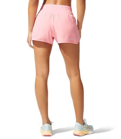 """Asics Road 3.5"""" Short шорты для бега женские светло-розовые"""