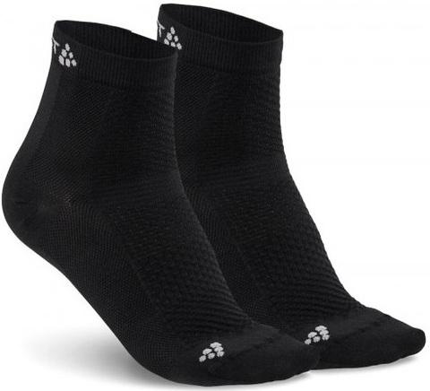 Комплект спортивных носков Craft Cool 2 пары средней высоты черные