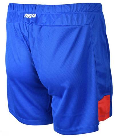 Asics Man Russia Short мужские волейбольные шорты синие