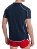 Волейбольная футболка Asics T-shirt Volo мужская Dark Blue - 2