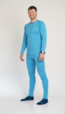 Nordski Warm мужской комплект термобелья синий