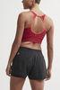 Craft Fuseknit Low Impact спортивный топ женский красный - 3
