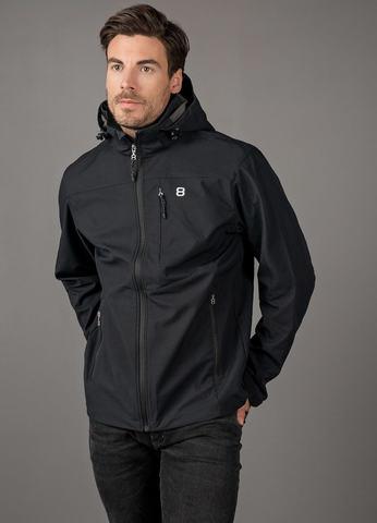 8848 Altitude Padore Softshell утепленная лыжная куртка мужская black