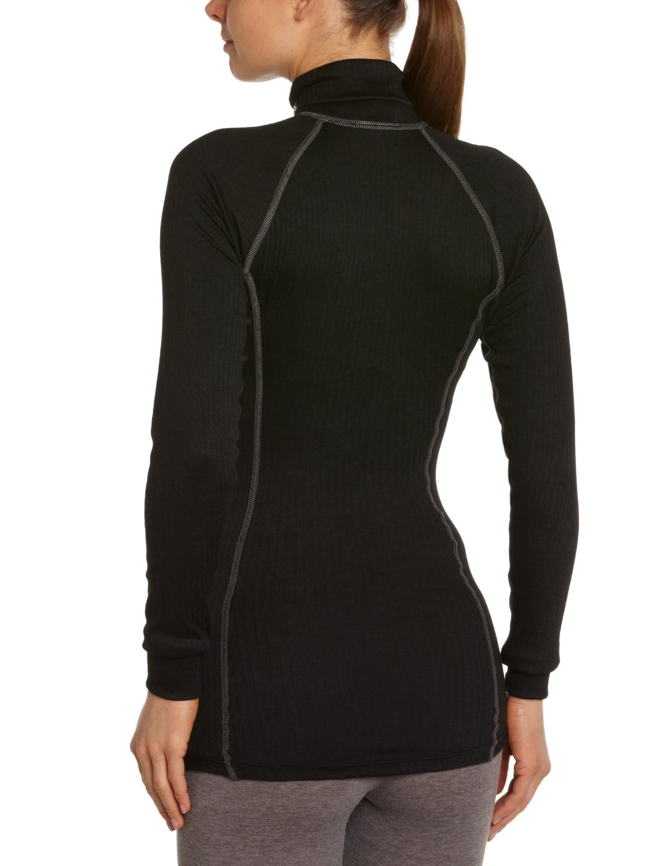 Термобелье Рубашка Craft Active Zip женская black - 3