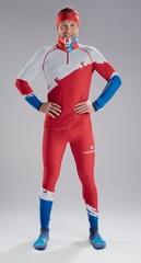 Nordski Jr Premium RUS детский гоночный комбинезон red