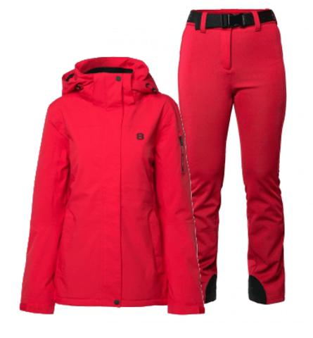 8848 Altitude Ebba Tumblr Slim горнолыжный костюм женский red