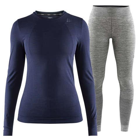 Craft Fuseknit Comfort комплект термобелья женский navy-grey