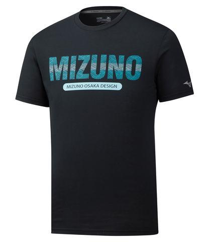 Mizuno Heritage Tee футболка для бега мужская черная