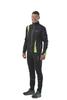 Nordski Active мужской разминочный костюм черный-желтый - 1