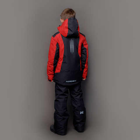 Nordski Jr Extreme горнолыжная куртка детская black-red