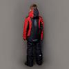 Nordski Jr Extreme горнолыжная куртка детская black-red - 3