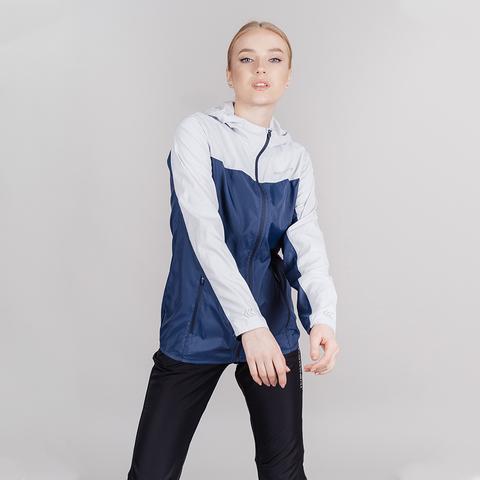 Nordski Rain Run костюм беговой женский moon grey-navy
