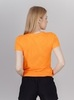 Nordski Ornament футболка спортивная женская orange - 2