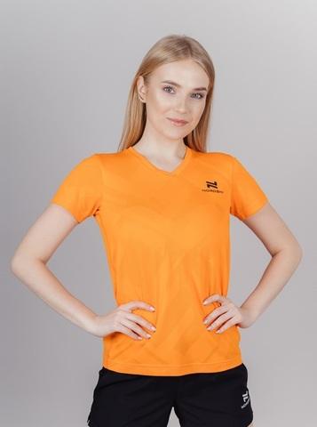 Nordski Ornament футболка спортивная женская orange