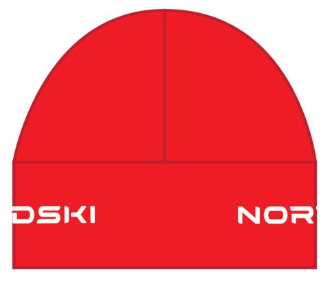 Nordski Warm шапка красная