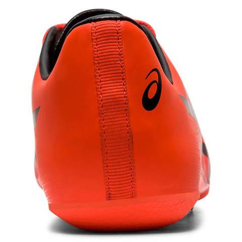 Asics Hyper Sprint 7 легкоатлетические шиповки для спринта красные