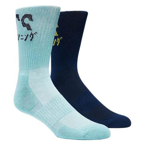 Asics 2ppk Katakana Sock носки беговые синие