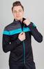 Nordski Drive мужской разминочный лыжный костюм black-blue - 2
