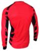 Olly Bright Sport Long футболка с длинным рукавом красная-черная - 2