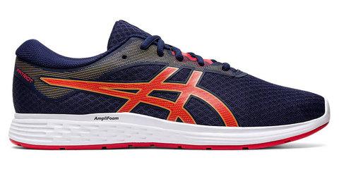Asics Patriot 11 кроссовки для бега мужские синие-оранжевые