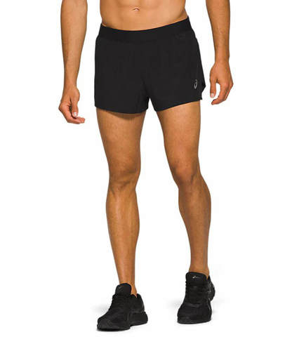 Asics Road Split Short шорты для бега мужские черные