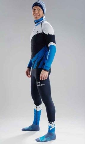 Nordski Premium лыжный гоночный комбинезон deep blue-white