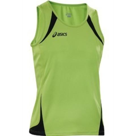 Майка легкоатлетическая Asics Singlet Usain green