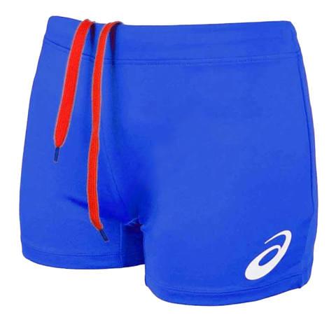 Asics Russia Short женские волейбольные шорты синие