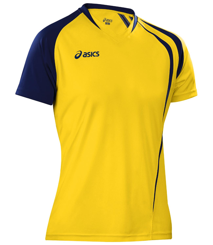 Asics T-shirt Fan Man футболка волейбольная yellow