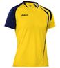 Asics T-shirt Fan Man футболка волейбольная yellow - 1