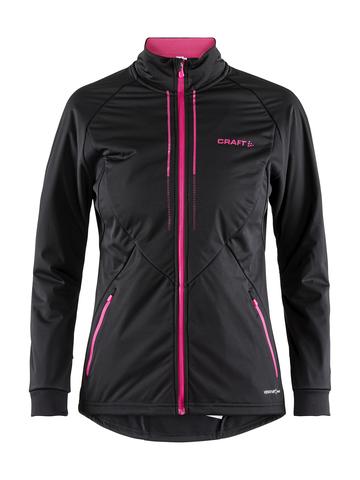 Craft Storm 2.0 женская лыжная куртка black-pink
