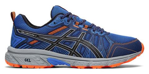 Asics Gel Venture 7 кроссовки-внедорожники для бега мужские синие-оранжевые