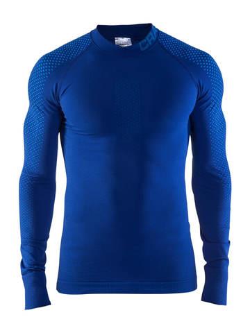 Термобелье мужское Craft Warm Intensity рубашка синяя
