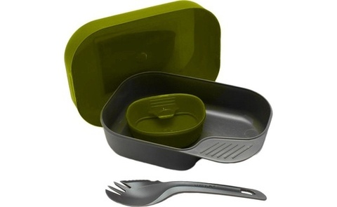 Wildo Camp-A-Box Light набор туристической посуды olive green