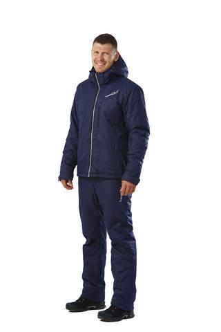 Nordski Premium мужской теплый лыжный костюм темно-синий