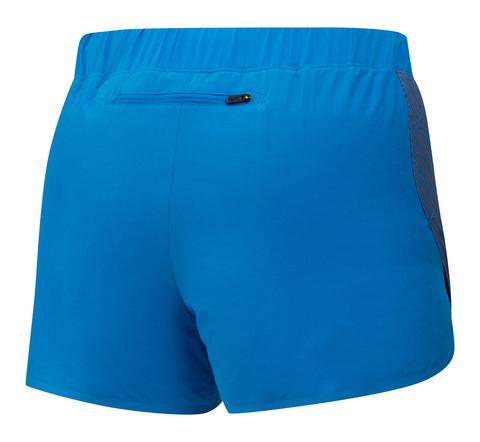 Mizuno Aero 2.5 Short шорты для бега женские синие