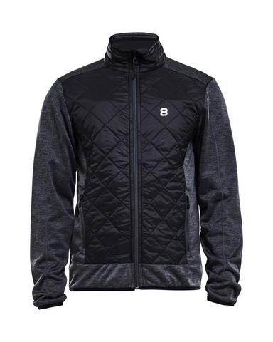Куртка-толстовка мужская 8848 Altitude Prince черная