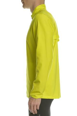 Куртка для бега мужская Asics Running Jacket желтая