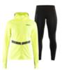 Craft Urban Wind Eaze женский костюм для бега черный-желтый - 1