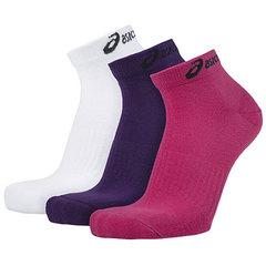 Комплект носков Asics 3ppk Ped розовый-белый-синий