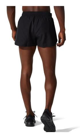 Asics Core Split Short шорты для бега мужские черные