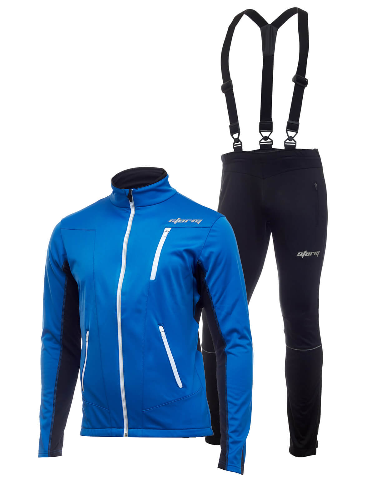 Утеплённый лыжный костюм Storm Speed (Шторм) blue мужской