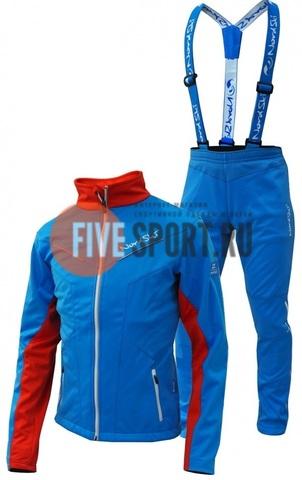 Nordski Jr National разминочный костюм детский blue