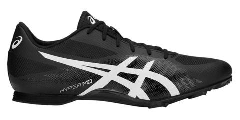 Asics Hyper Md 7 легкоатлетические шиповки на средние дистанции черные