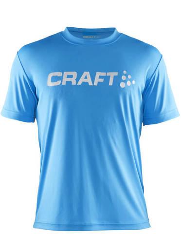 Футболка Craft Prime Run Logo мужская blue