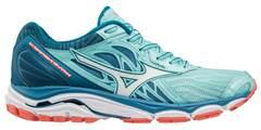 Беговые кроссовки женские Mizuno Wave Inspire 14 голубые