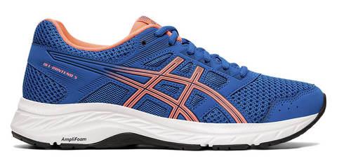 Asics Gel Contend 5 кроссовки для бега женские синие