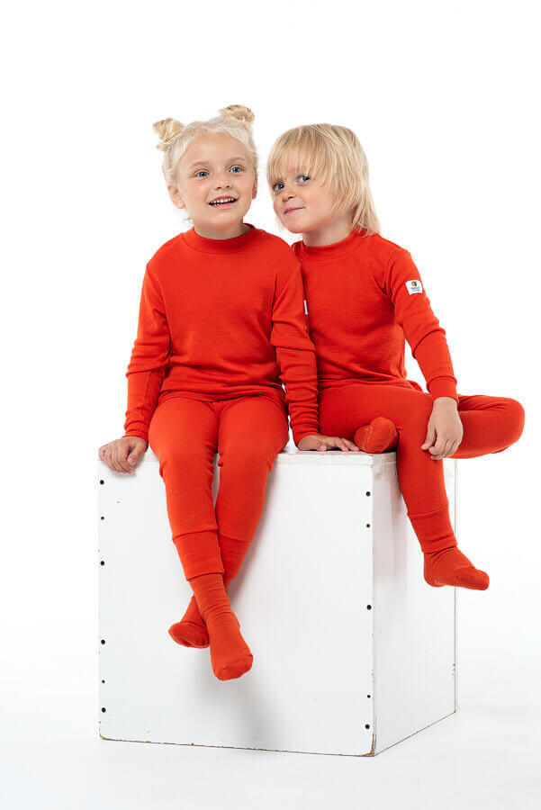 Janus Prince or Princess Wool термокальсоны детское апельсиновые - 6