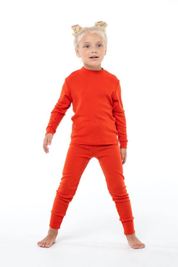 Janus Prince or Princess Wool термокальсоны детское апельсиновые - 5